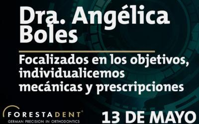 Webinar – Dra. Angélica Boles – Focalizados en los objetivos, individualicemos mecánicas y prescripciones.